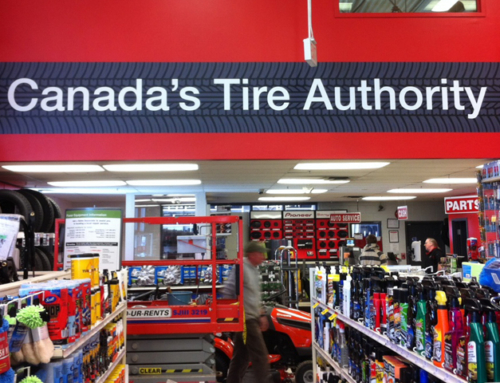 Canadian Tire Wall Decal